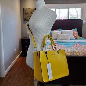 Calvin Klein Yellow Handbag